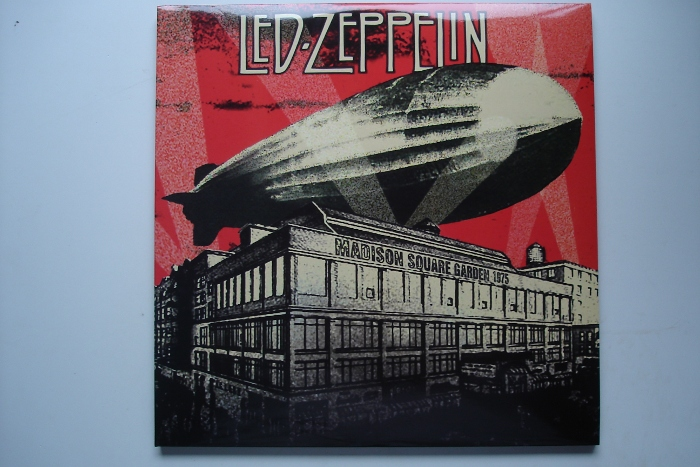 Retro Shop Sold Led Zeppelin Madison Square Garden 1975 3lp Special Ltd Edition 500 Copies
