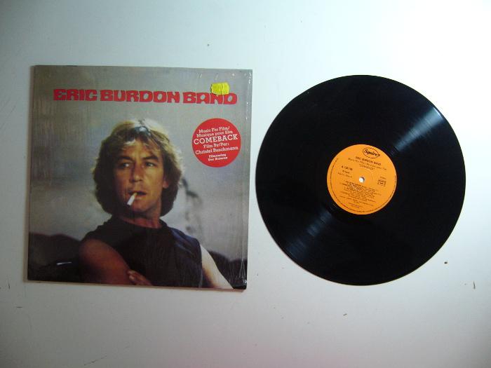 Retro Shop Sold Eric Burdon Ex The Animals Band